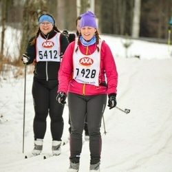 Skiing 45 km - Katarina Minnegård (7428)