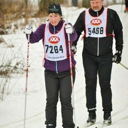 Skiing 45 km - Susanne Wolff (7284)