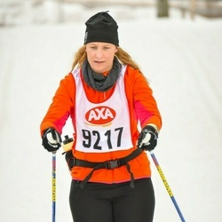 Skiing 45 km - Christine Andersson (9217)