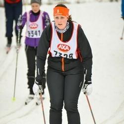 Skiing 45 km - Louise Kadre (7329)