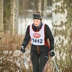 Skiing 45 km - Edith Engvall (7442)