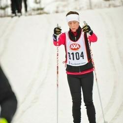 Skiing 45 km - Jenny Petersson (8104)