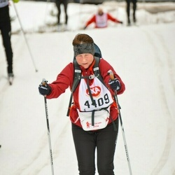 Skiing 45 km - Gunilla Stenninger (4409)
