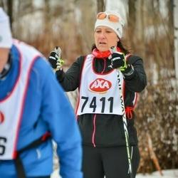 Skiing 45 km - Marina Wendin (7411)