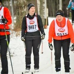 Skiing 45 km - Annlouise Lidèn (6487)