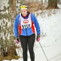 Skiing 45 km - Åsa Johansson (8159)