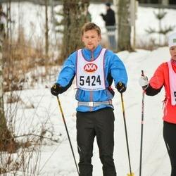Skiing 45 km - Erik Gustafsson (5424)
