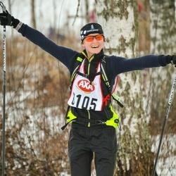 Skiing 45 km - Kristin Heikkilä (8105)
