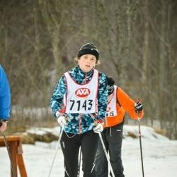 Skiing 45 km - Veronica Thorfve (7143)