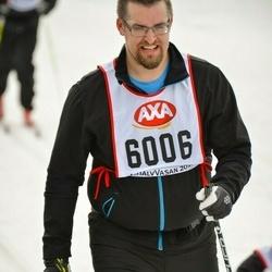 Skiing 45 km - Simon Almesjö (6006)