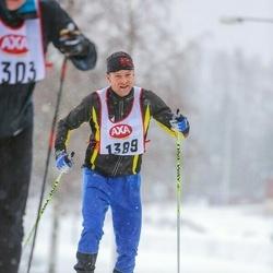 Skiing 45 km - Nick Barrable (1389)