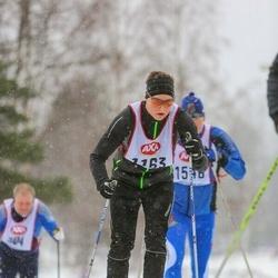 Skiing 45 km - Jonas Larsson (1163)