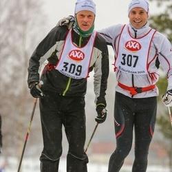 Skiing 45 km - Håkon Breistrand (307), Per Håkon Breistrand (309)