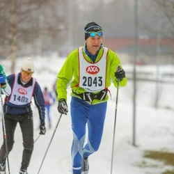 Skiing 45 km - Gunnar Andersson (2043)