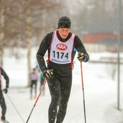 Skiing 45 km - Christer Westerlund (1174)