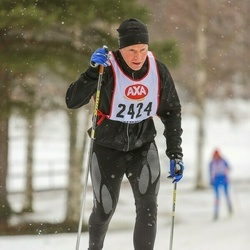Skiing 45 km - Mikael Lind (2424)