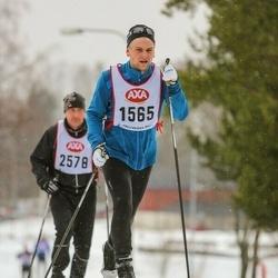 Skiing 45 km - Marcus Åhlin (1565)
