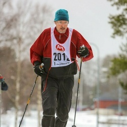 Skiing 45 km - Martin Kvarnbäck (2012)