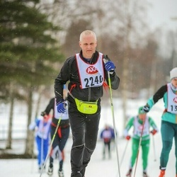Skiing 45 km - Lars Winther (2240)