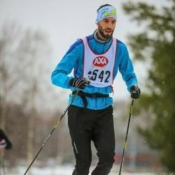 Skiing 45 km - Moritz Schneider (1542)