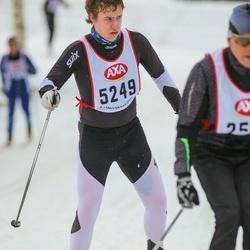 Skiing 45 km - Elias Nordal (5249)