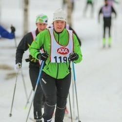 Skiing 45 km - Catarina Larsson (1196)