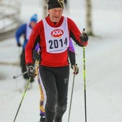 Skiing 45 km - Christer Knapp (2014)