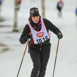 Skiing 45 km - Anna Djäken (1616)