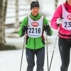 Skiing 45 km - Lennart Hoff (2216)