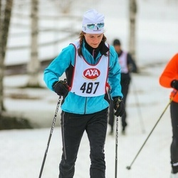 Skiing 45 km - Karin Lind (487)