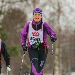 Skiing 45 km - Camilla Wilhelmsson (3581)