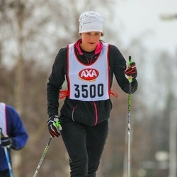 Skiing 45 km - Lina Siljegård (3500)