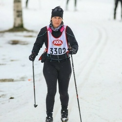 Skiing 45 km - Susanne Tranberg (3302)