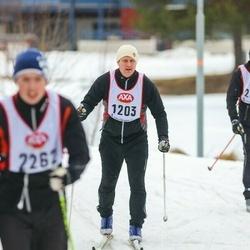 Skiing 45 km - Henrik Wigert (1203)