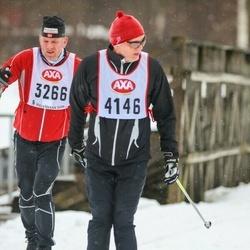 Skiing 45 km - Arne Saupstad (3266), Lars Kennmar (4146)