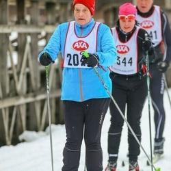 Skiing 45 km - Christina Hallgren (2049)