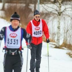 Skiing 45 km - Lars Nyman (4092)