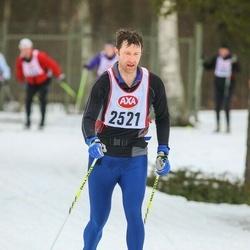 Skiing 45 km - Alexander Calvert (2521)