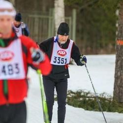 Skiing 45 km - Lars Mosseby (3351)