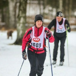 Skiing 45 km - Anna-Karin Stefansson (1603)
