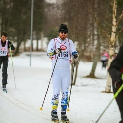 Skiing 45 km - Mikael Wallin (4163)