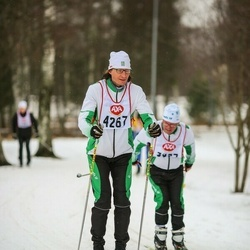 Skiing 45 km - Johan Peters (4267)