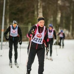 Skiing 45 km - Kristin Fröberg (2212)
