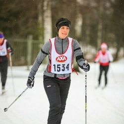 Skiing 45 km - Katarina Adolfsson Gran (1534)