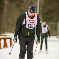 Skiing 45 km - Anders Djäken (1359)