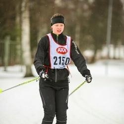 Skiing 45 km - Moa Damidez (2150)
