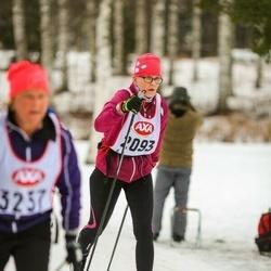 Skiing 45 km - Angela Järvi (2093)