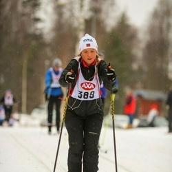 Suusatamine 45 km - Johanna Ågren (389)