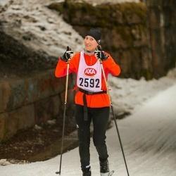 Skiing 45 km - Emelie Skott (2592)