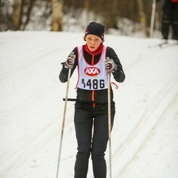 Skiing 45 km - Johanna Ruthström (4486)